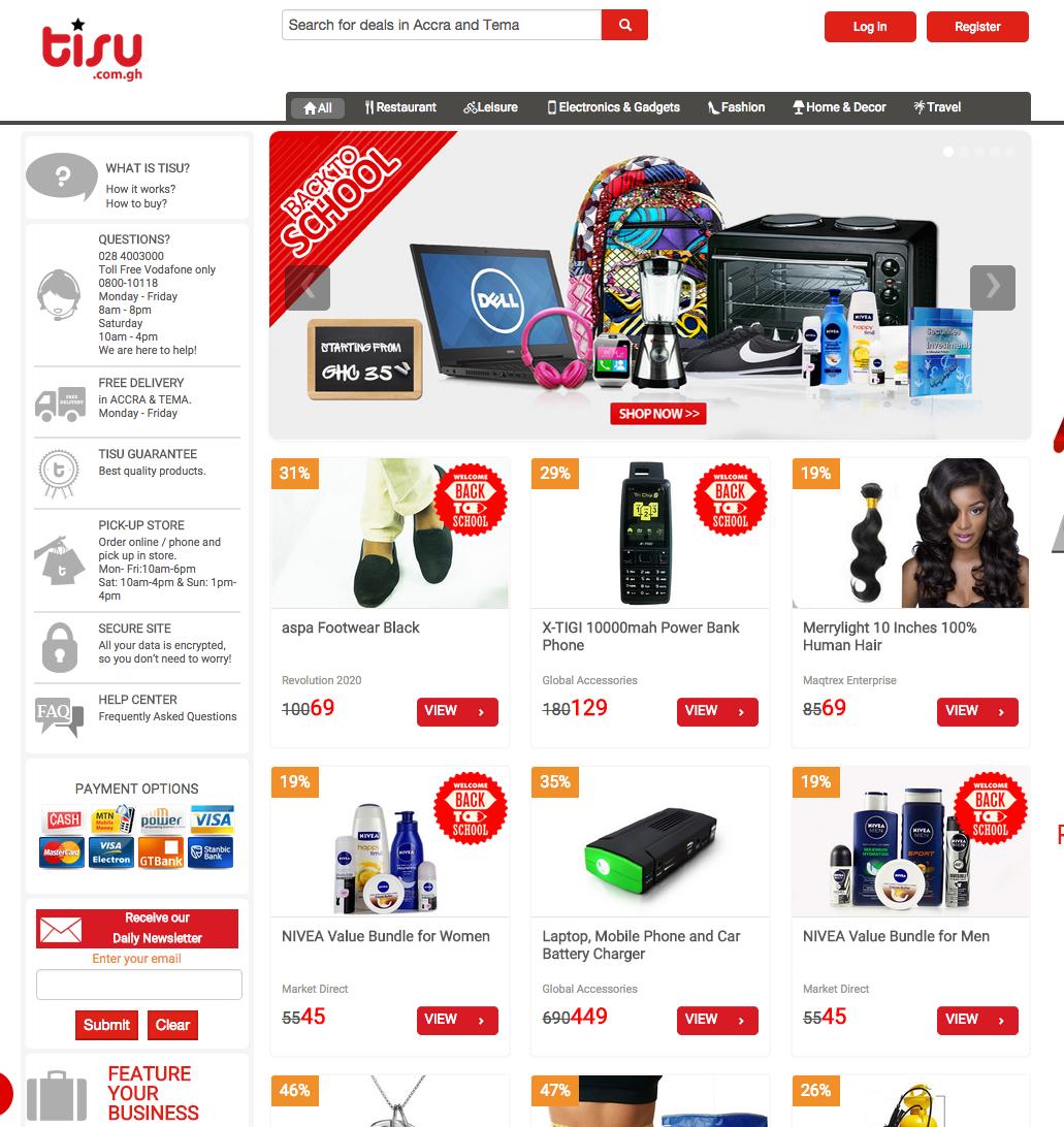 Ecommerce Report Ghana S Top 21 Ecommerce Websites