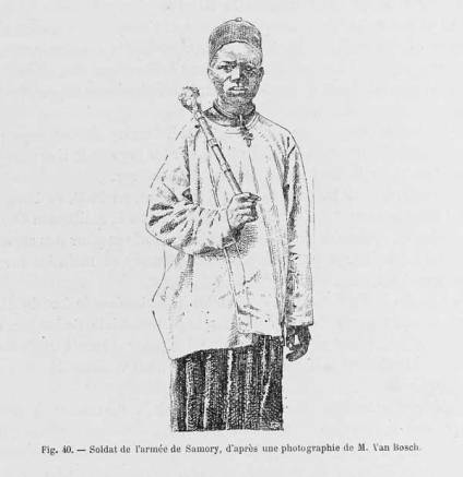A SOLDIER OF THE SAMORI ARMY